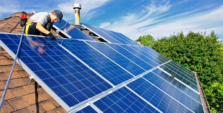 zonnepaneel installatie Byssus